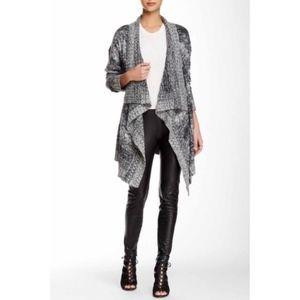 Romeo Juliet Women's Cardigan Sweater Grey Small